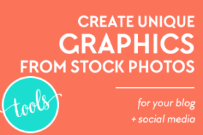 Create Unique Graphics from Stock Photos for Your Blog and Social Media [Tutorial] using BeFunky and this super easy tutorial from DesignYourOwnBlog.com! I love the Watercolor effect, part of the Photo to Art effects in BeFunky Plus!