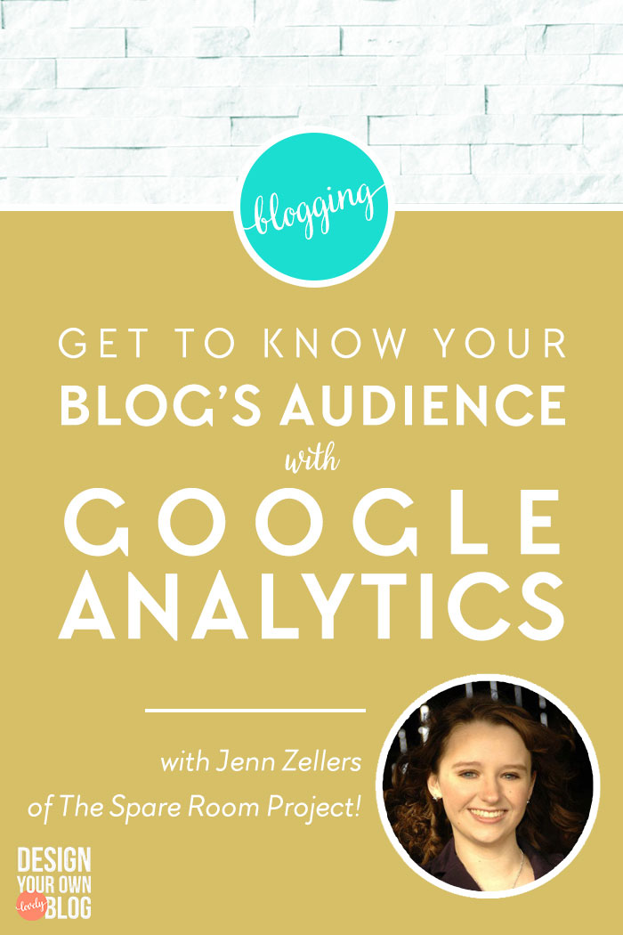 Do you use Google Analytics? What are you waiting for? Get to Know Your Blog's Audience and Grow Your Traffic with Google Analytics! Read more at www.DesignYourOwnBlog.com!