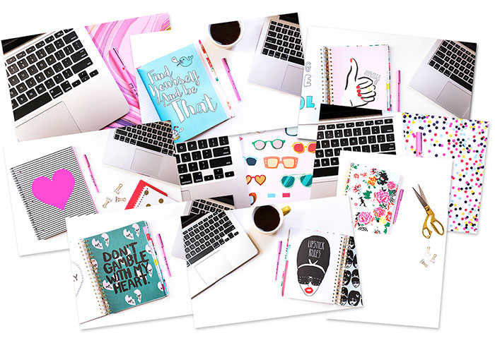 Free feminine styled stock photography. This one from Wonderlass. See the entire list of resources at DesignYourOwnBlog.com