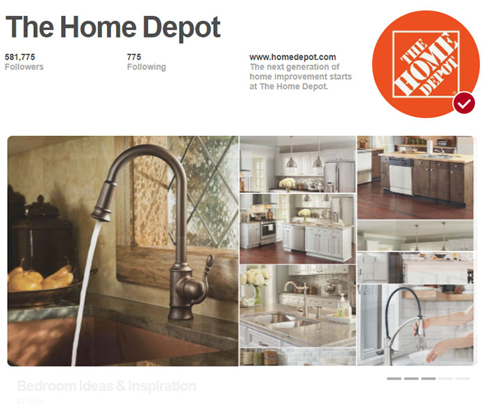 Have your work featured on one of the curated boards for a company utilizing Pincodes. For instance, if your niche is home improvement then being featured on The Home Depot's Built In Pins campaign could do wonders for your blog's traffic. #pinterest #pincodes #pinterestlens #socialmedia #blogging