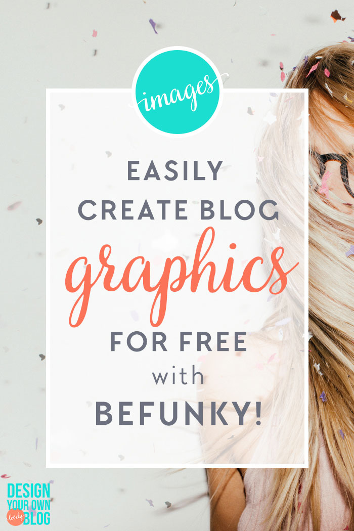 One of the most important pieces of designing your own blog is creating graphics for your blog that match your branding. Now you can easily create blog graphics for free with BeFunky! Check out the videos I've made to show you BeFunky's new features. #bloggraphics #blogdesign #diydesign #photoshopalternative #befunky