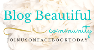 Join the Blog Beautiful Facebook Community!