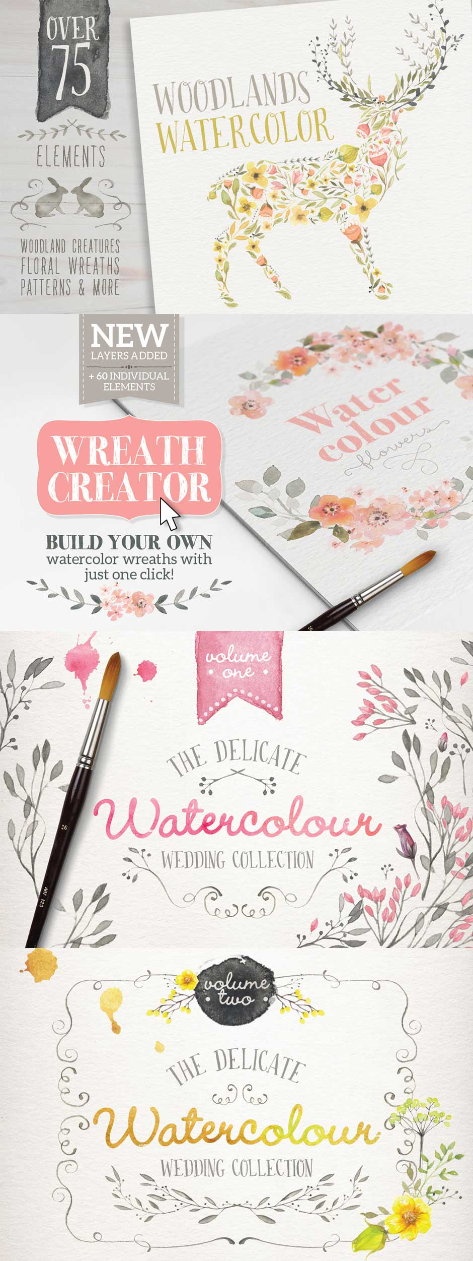 Watercolor Graphics.  Get them as part of the Amazing design bundle with 1000's of items for just $29!!