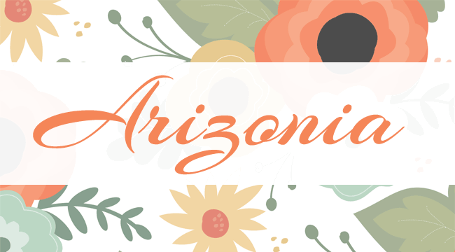 Arizonia, a free font is one of 20 beautiful fat brush scripts at DesignYourOwnBlog.com