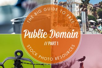 Big Guide to Free Stock Photo Resources: Part 1 Public Domain