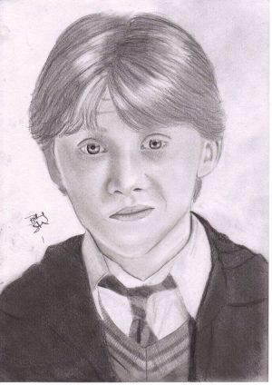 potter harry draw drawing ron weasley characters anime