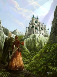 Fantasy Castles: 60 Castle Art Paintings That You Should See
