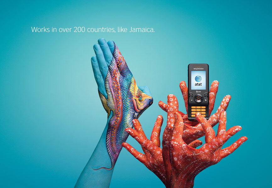 attjamaica Art, advertising and body painting
