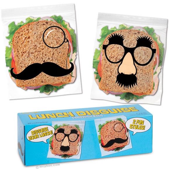 Lunch Disguise Sandwich Bags Cool Gadget of the week !