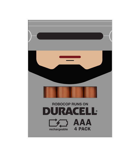 duracell robocop Duracell Promo Packaging