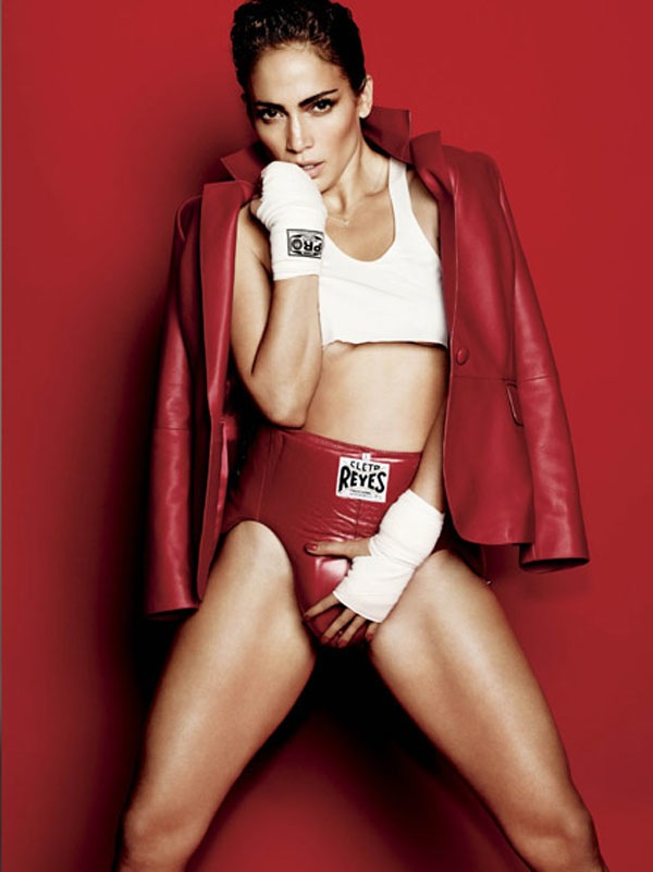 jennifer lopez jlo v magazine spring 2012 sports issue mario testino 3 Sexy Knockout