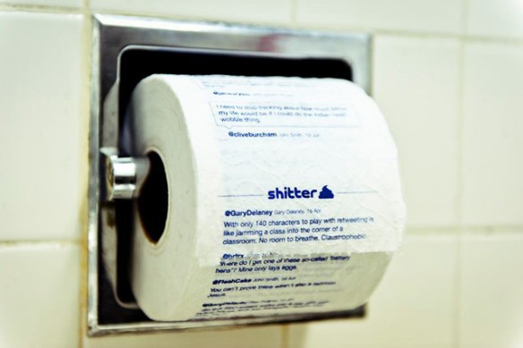 shtter1 Shitter: App Prints Your Tweets on Toilet Paper