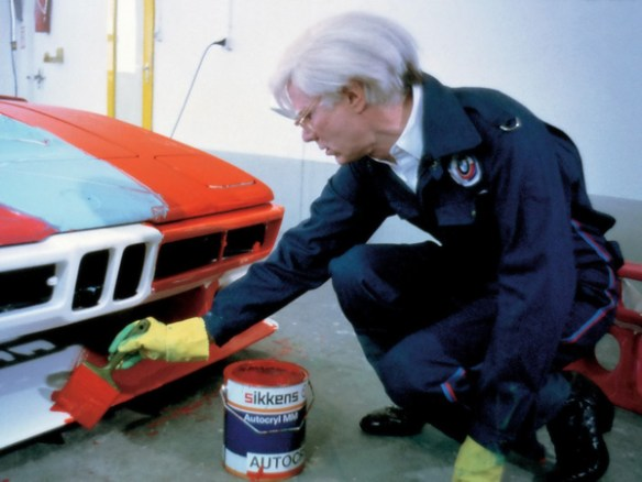 BMW M1 andy warhol 5 Andy Warhol BMW M1