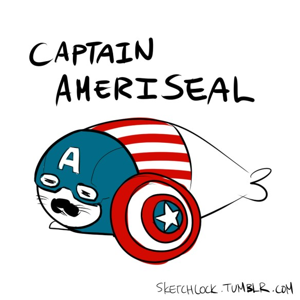 baby seal avengers captain america Baby Seal Avengers