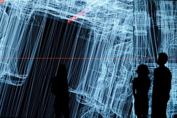 data Installation by Ryoji Ikeda