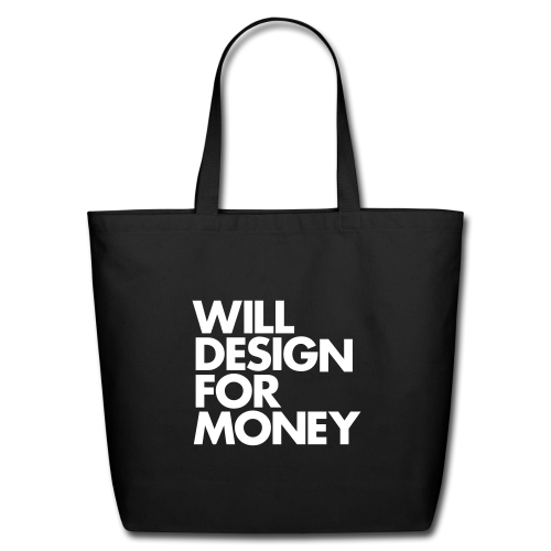 design for money Eco Friendly, Type Based Designer Tote Bags To Help Celebrate Earth Day