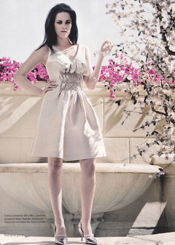 kristen stewart by david slijper elle uk june 2012 1 Kristen White