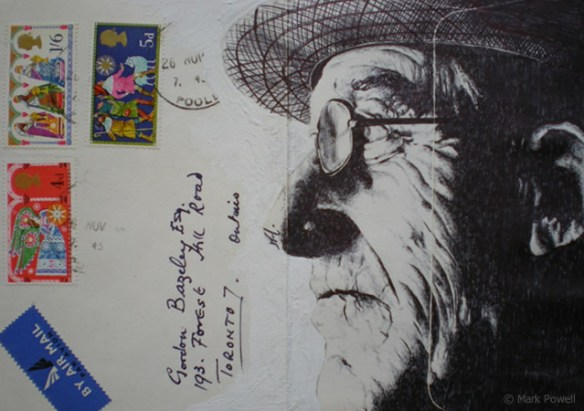 1o87 Biro pen drawings by Mark Powell