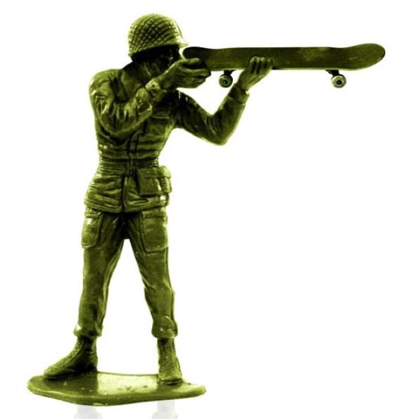 steve nishimoto skate soldier gun Army Skaters