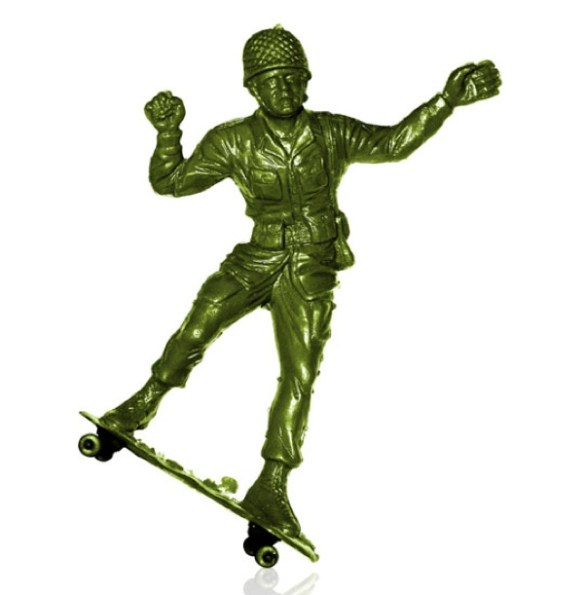 steve nishimoto skate soldier ollie Army Skaters
