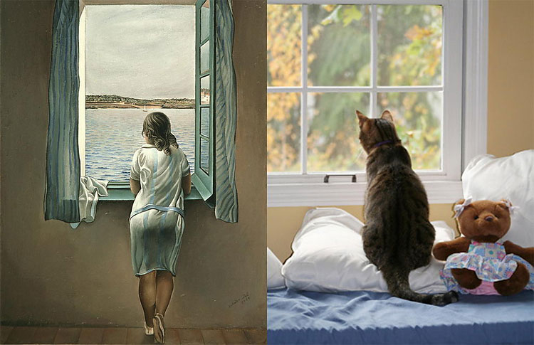 1612 The Copycats: Cats Imitating Famous Works Of Art