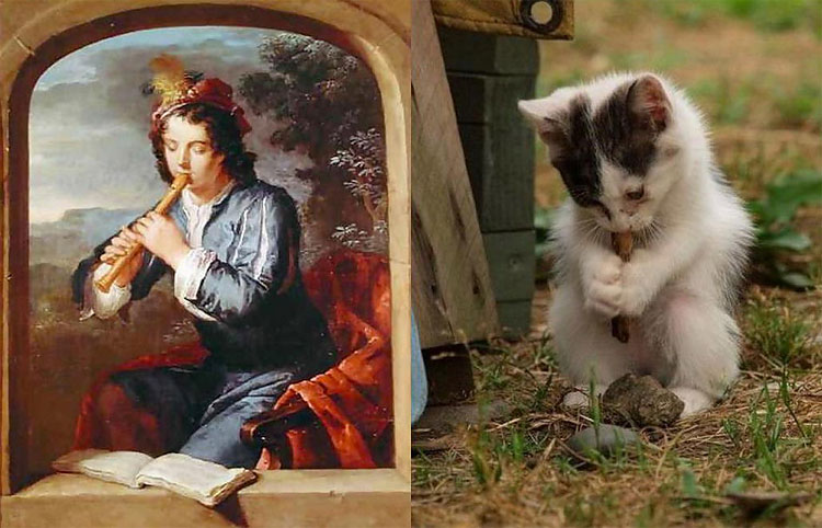 2112 The Copycats: Cats Imitating Famous Works Of Art