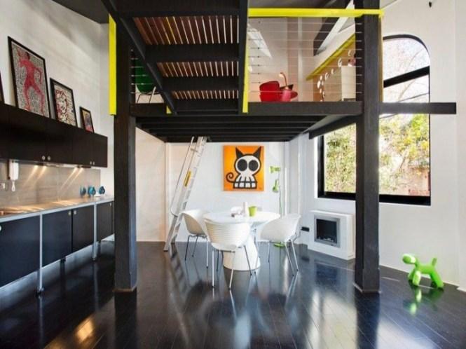 New York Style Warehouse Apartment Blue Ant Studio