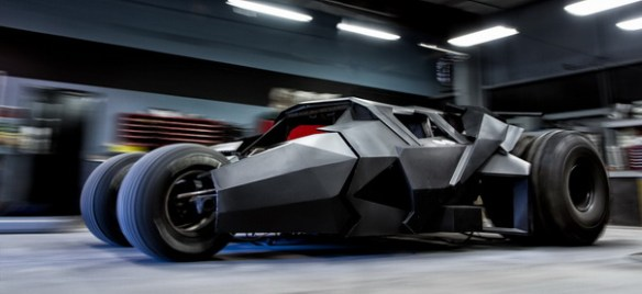 Batmobile Tumbler Gumball 3000 Custom Made $1.5 Mil Batmobile