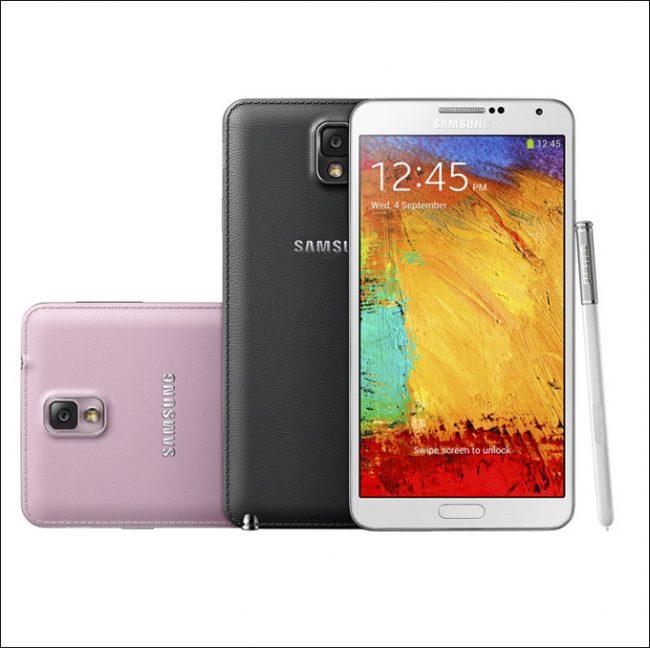 Samsung GALAXY Note 3 01 650x648 The new smartphone Samsung Galaxy Note 3