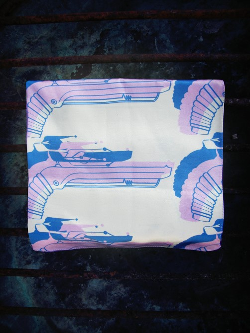 IMG 4057 RAYGUN INSPIRED SILK SCARVES By Sour Milk Sea
