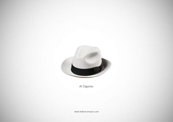 ©Federico Mauro. Famous Hats 014 Famous Hats by Federico Mauro