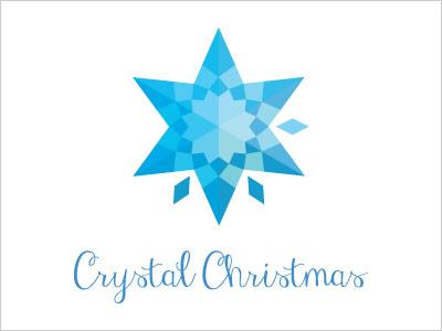 Crystal Christmas Logo design Christmas & Holiday Inspired Logo Designs