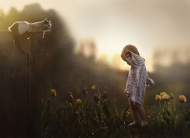 1041 Mothers Intimate Photographs Capture Her Sons Special Bond with Animals