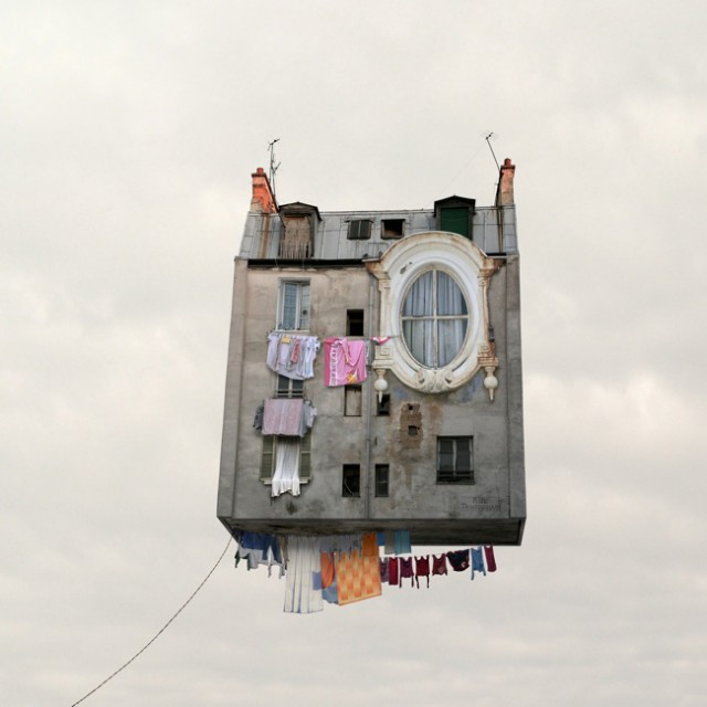 1357638938 0 640x640 Flying Houses by Laurent Chehere