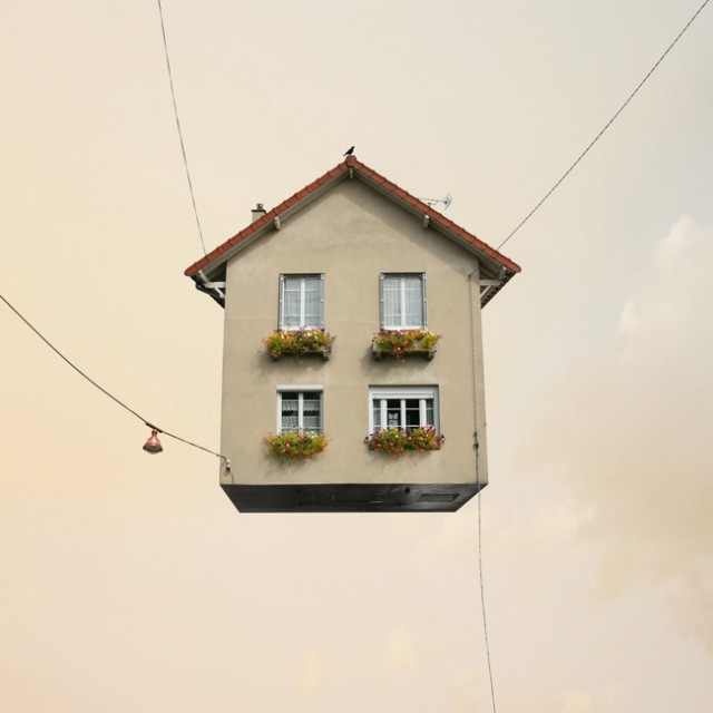 1357638943 1 640x640 Flying Houses by Laurent Chehere