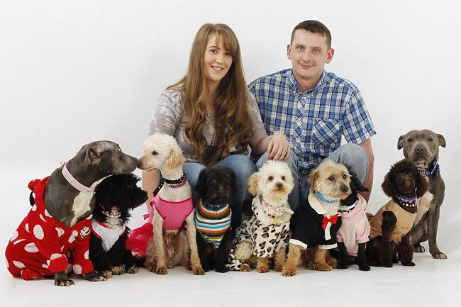 1124 British Dog Lover Spends £30,000 On Her Nine Pets