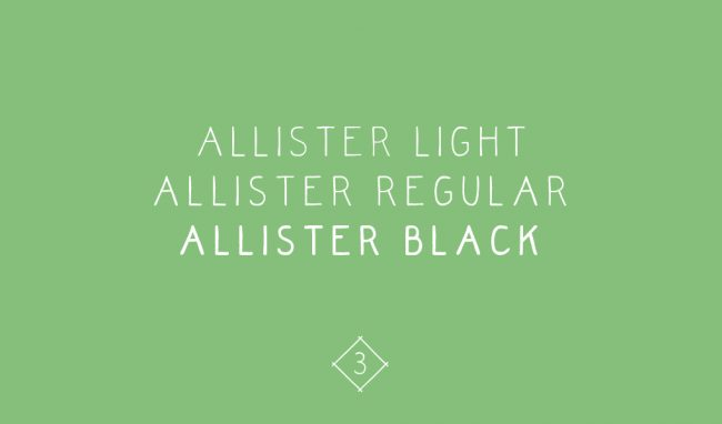 allister21 650x382 Quirky and Hand Drawn Font Allister and Symbols 20% Off Coupon