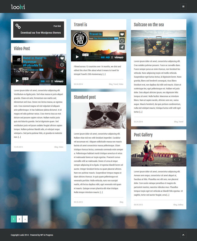 2109 10 Best Free WordPress Themes for April 2014
