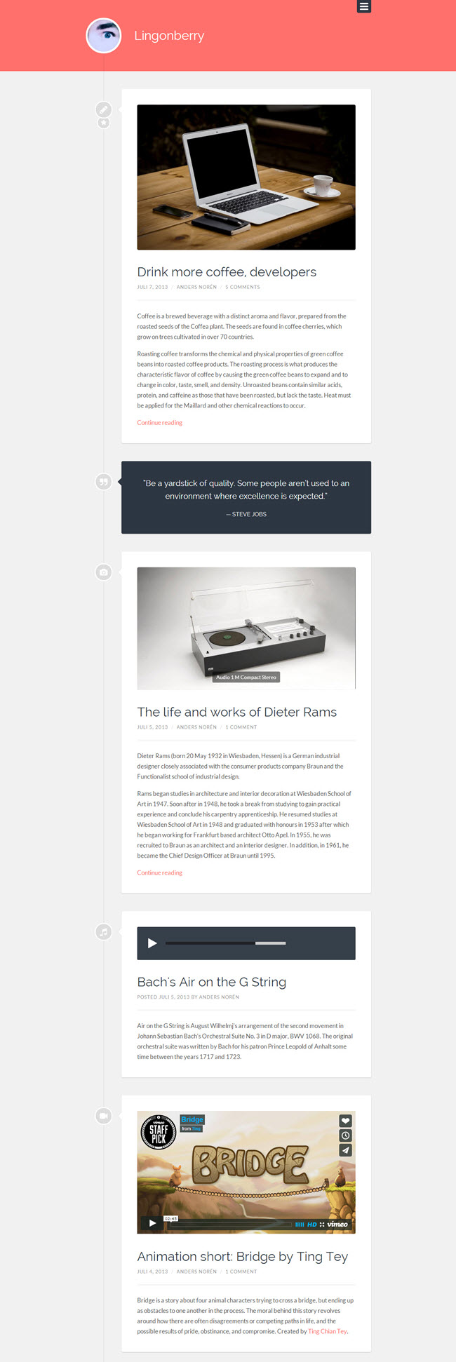 378 10 Best Free WordPress Themes for April 2014