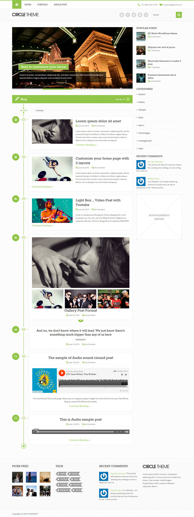 947 10 Best Free WordPress Themes for April 2014