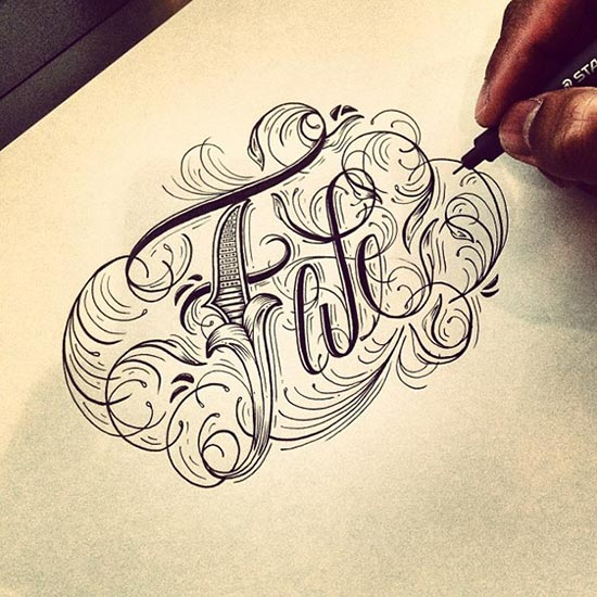 Stunning Typography Lettering Designs by Raul Alejandro 29 30+ Stunning Typography & Lettering Designs by Raul Alejandro