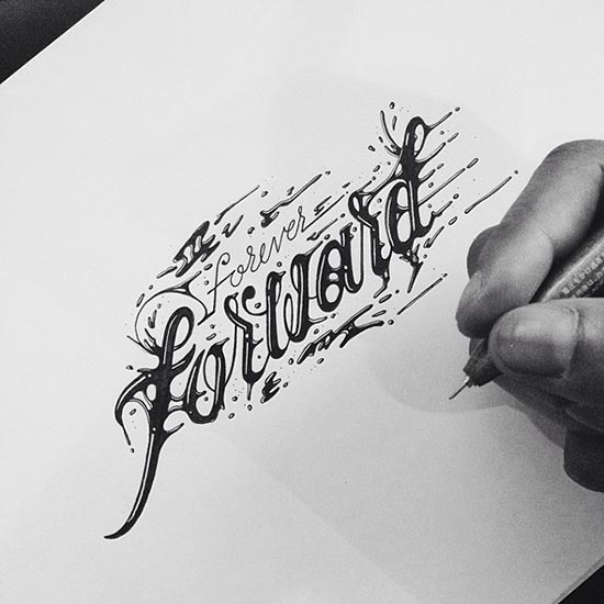 Stunning Typography Lettering Designs by Raul Alejandro 30 30+ Stunning Typography & Lettering Designs by Raul Alejandro