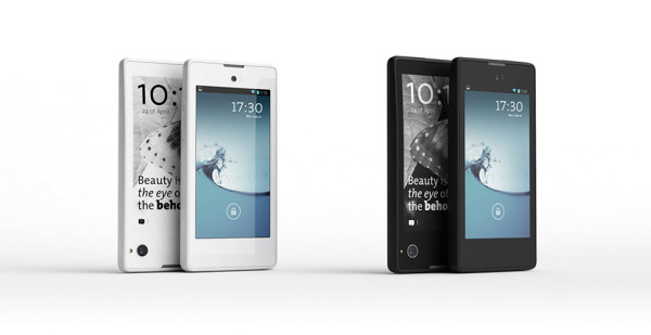 The YotaPhone 1 600x309 YotaPhone. The Two Screens Phone