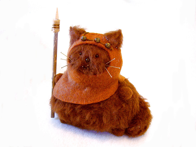 1166 Sew Awesome: Fun Sci Fi Kitty Pincushions