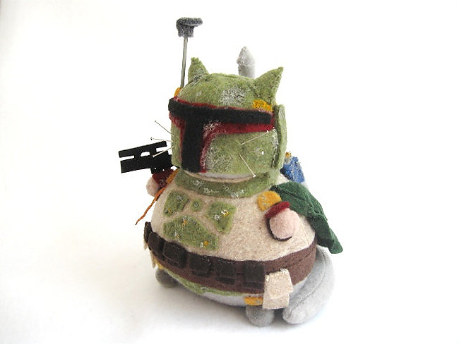 387 Sew Awesome: Fun Sci Fi Kitty Pincushions