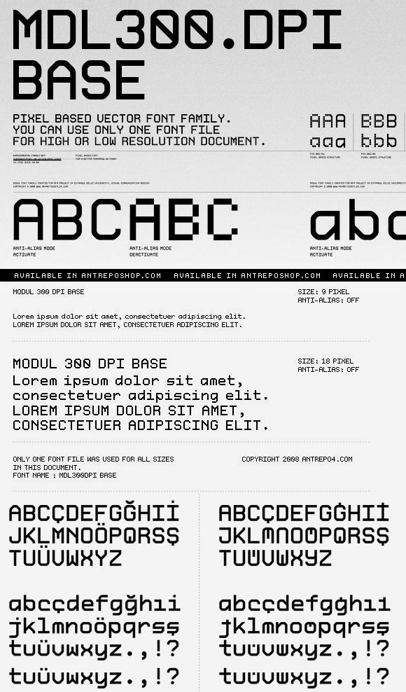 Next Generation Font Design For Screen Performance