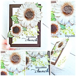 """Celebrate sunflowers stamp set, sunflower dies, good taste designer series paper, pressed petals journal, pear pizzazz cardstock, seaside spray cardstock, pressed petals specialty designer series paper, botanical prints product medley, detailed band dies, ornate layers dies, Ornate style stamp set, ornate garden specialty designer series paper, ornate layers dies, grapefruit grove cardstock, gold glitter enamel dots, coastal weave 3d embossing folder, basket weave embossing folder, a wish for everything stamp set, word wishes dies, ornate layers dies, ornate floral 3d embossing folder, ornate garden ribbon, ornate garden specialty designer series paper, best dressed 6"""" x 6"""" dsp, pear pizzazz classic ink, sponge daubers, peaceful moments stamp set, subtles embossing folder, rectangle stitched dies, saddle brown stazon ink, blushing bride cardstock, from my heart faceted gems, pear pizzazz classic ink, pleased as punch designer series paper, granny apple green cardstock, basic black cardstock, gorgeous grape cardstock, rococo rose light and dark stampin' blends, granny apple green dark and light stampin' blends, watercolor pencils, blender pen, petal pink cardstock, stitched so sweetly dies, rectangle stitched framelits, 5/8"""" whisper white flax ribbon, real red rhinestones, silicone craft mat, white embossing powder, versamark ink pad, heat tool, watercolor paper, crumb cake cardstock, tear & tape, 1"""" circle punch, simply scored, paper trimmer, Paper Snips, Take Your Pick Tool, Stampin' Sponges, White Chalk Marker, Stitched Rectangle Dies, sip & celebrate dies, Grid Paper, stampin sponge, perfectly plaid Stamp set, truck ride dies, shimmery crystal effects, braided linen ribbon, to every season stamp set, every season punch, gold foil paper, shaded spruce cardstock, cherry cobbler cardstock, wrapped in plaid 6 x 6 designer series paper, thick whisper cardstock, silicone craft mat, grid paper, polka dot tulle ribbon, come to gather designer series paper, splitcoaststam"""