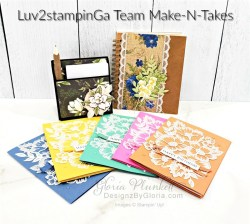 """Blossoms in bloom stamp set, tasteful touches stamp set, in good taste designer series paper, pressed petals journal, pear pizzazz cardstock, seaside spray cardstock, pressed petals specialty designer series paper, botanical prints product medley, detailed band dies, ornate layers dies, Ornate style stamp set, ornate garden specialty designer series paper, ornate layers dies, grapefruit grove cardstock, gold glitter enamel dots, coastal weave 3d embossing folder, basket weave embossing folder, a wish for everything stamp set, word wishes dies, ornate layers dies, ornate floral 3d embossing folder, ornate garden ribbon, ornate garden specialty designer series paper, best dressed 6"""" x 6"""" dsp, pear pizzazz classic ink, sponge daubers, peaceful moments stamp set, subtles embossing folder, rectangle stitched dies, saddle brown stazon ink, blushing bride cardstock, from my heart faceted gems, pear pizzazz classic ink, pleased as punch designer series paper, granny apple green cardstock, basic black cardstock, gorgeous grape cardstock, rococo rose light and dark stampin' blends, granny apple green dark and light stampin' blends, watercolor pencils, blender pen, petal pink cardstock, stitched so sweetly dies, rectangle stitched framelits, 5/8"""" whisper white flax ribbon, real red rhinestones, silicone craft mat, white embossing powder, versamark ink pad, heat tool, watercolor paper, crumb cake cardstock, tear & tape, 1"""" circle punch, simply scored, paper trimmer, Paper Snips, Take Your Pick Tool, Stampin' Sponges, White Chalk Marker, Stitched Rectangle Dies, sip & celebrate dies, Grid Paper, stampin sponge, perfectly plaid Stamp set, truck ride dies, shimmery crystal effects, braided linen ribbon, to every season stamp set, every season punch, gold foil paper, shaded spruce cardstock, cherry cobbler cardstock, wrapped in plaid 6 x 6 designer series paper, thick whisper cardstock, silicone craft mat, grid paper, polka dot tulle ribbon, come to gather designer series paper, sp"""
