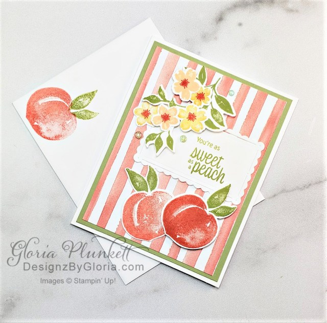 """Sweet as a peach stamp set, peach dies, you're a peach designer series paper, layering circles, rococo rose cardstock, vellum cardstock, slimline, tall, apple builder punch, autumn eaves punch pack, stitched rectangle dies, ornate thanks stamp set, hammered metal 3d embossing folder, poppy moments dies, jar of flowers stamp set, layering square dies, fabulous floral dies, gather together stamp set, pet dies, whale builder punch, playful pets designer series paper, whale of a time dsp, 3/8"""" sheer ribbon, whale of a time sequins, Gold hoop embellishments, free as a bird stamp set, magenta madness cardstock, cinnamon cider cardstock, just jade cardstock, magenta madness cardstock, jar punch, ornate garden specialty designer series paper, itty bitty greetings, pear pizzazz cardstock, seaside spray cardstock, pressed petals specialty designer series paper, botanical prints product medley, detailed band dies, ornate layers dies, Ornate style stamp set, ornate garden specialty designer series paper, ornate layers dies, grapefruit grove cardstock, gold glitter enamel dots, coastal weave 3d embossing folder, basket weave embossing folder, a wish for everything stamp set, word wishes dies, ornate layers dies, ornate floral 3d embossing folder, ornate garden ribbon, ornate garden specialty designer series paper, best dressed 6"""" x 6"""" dsp, pear pizzazz classic ink, sponge daubers, peaceful moments stamp set, subtles embossing folder, rectangle stitched dies, saddle brown stazon ink, blushing bride cardstock, from my heart faceted gems, pear pizzazz classic ink, pleased as punch designer series paper, granny apple green cardstock, basic black cardstock, gorgeous grape cardstock, rococo rose light and dark stampin' blends, granny apple green dark and light stampin' blends, watercolor pencils, blender pen, petal pink cardstock, stitched so sweetly dies, rectangle stitched framelits, 5/8"""" whisper white flax ribbon, real red rhinestones, silicone craft mat, white embossing powder, ve"""