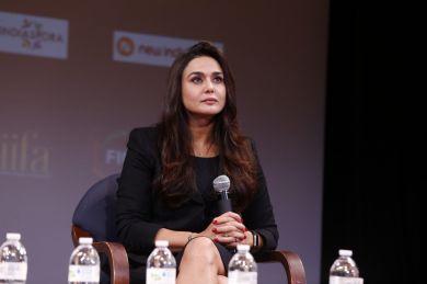 Preity Zinta at FICCI-IIFA Global Business Forum 2017